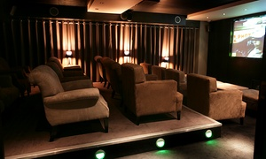 Eight Members Club: Movie Night with Popcorn and Beer or Soft Drink for One or Two at Eight Club Bank