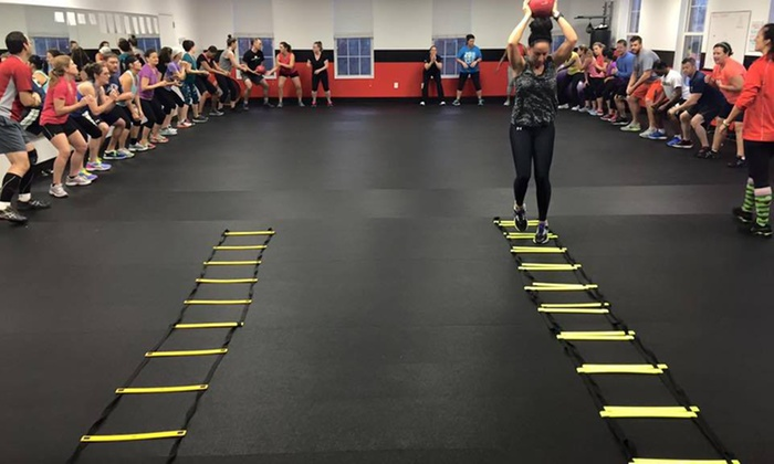 Extreme Fun & Fit Bootcamp - Ellicott City: Four Weeks of Unlimited Boot-Camp Classes at Extreme Fun & Fit Bootcamp (79% Off)
