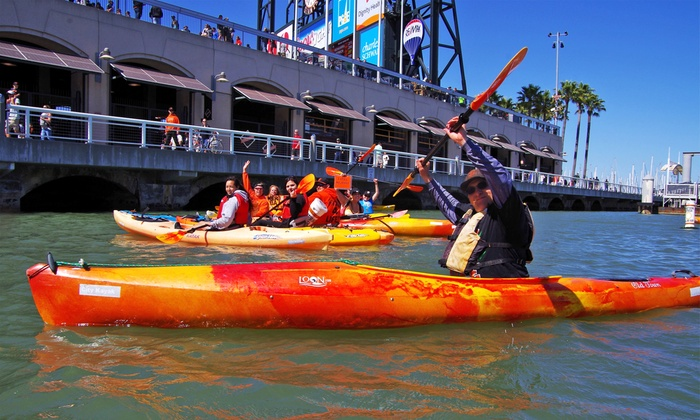 City Kayak - The Embarcadero: Kayak Lesson for One, Two, or Four from City Kayak (Up to 52% Off)