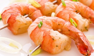 El Muro: 1, 2 oder 3 kg Gambas mit Baguette, Salat und Aioli-Dip für 2, 4 oder 6 Personen im El Muro (bis zu 45% sparen*)
