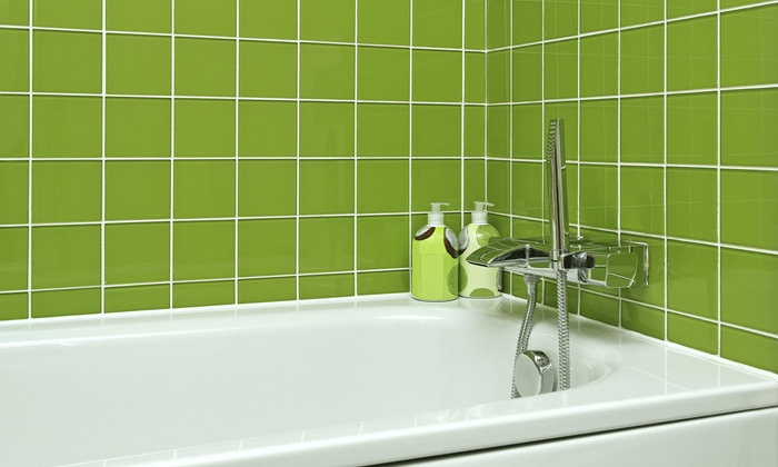 Dry Extraction Carpet Cleaning - Las Vegas: Shower Grout Cleaning Package from Dry Extraction Carpet Cleaning (60% Off)