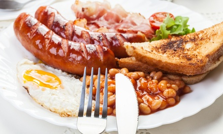 Full English Breakfast for One or Two at The Cabin Cafe at Bells Mill Fishery (Up to 38% Off)