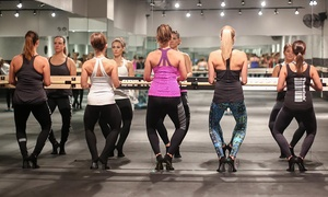 52% Off Barre, Yoga & Cardio Classes at The Barre Code at The Barre Code, plus 6.0% Cash Back from Ebates.