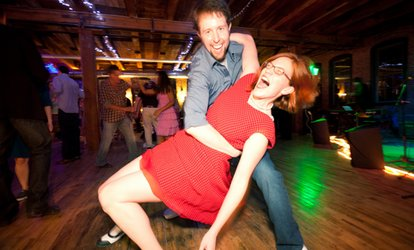 image for Swing <strong>Dance</strong> Class and <strong>Dance</strong> Party for 1 or 2, or Boot-Camp with Party from Boston Swing Central (Up to 55% Off)