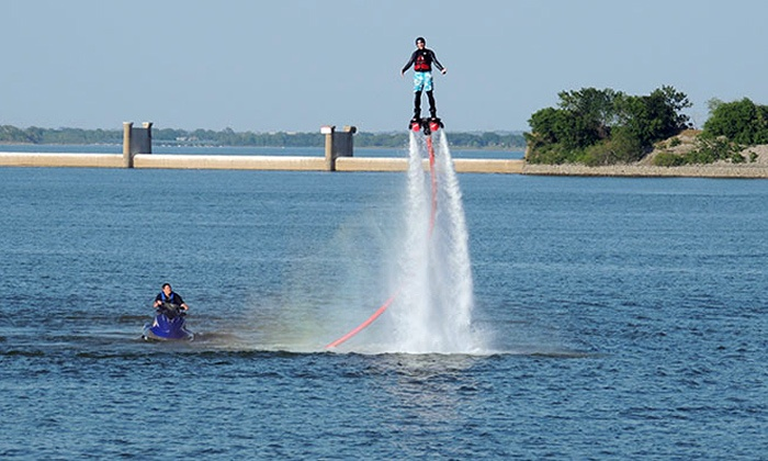Flyboard-Nation - Hickory Creek: 30- or 60-Minute Flyboard Flight for One or Two at Flyboard-Nation (Up to 53% Off)
