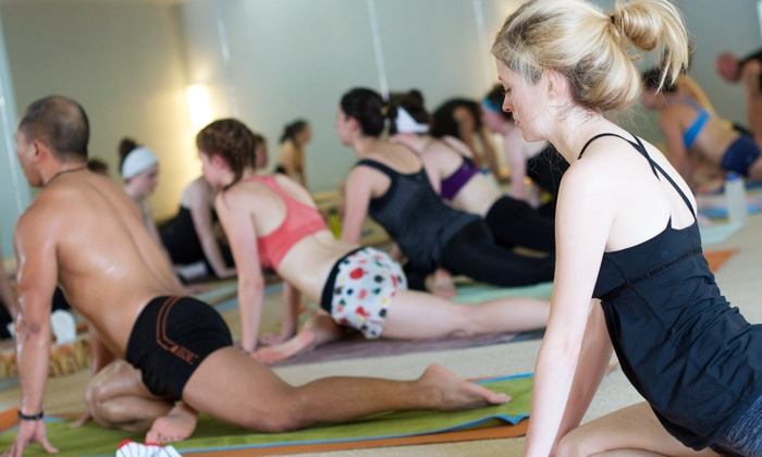 bē HOT YOGA - Westmount: Five Hot-Yoga Classes or One Month of Unlimited Classes at bē HOT YOGA (Up to 70% Off)