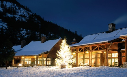 Stay for Two at Freestone Inn in Methow Valley, WA; Dates into March