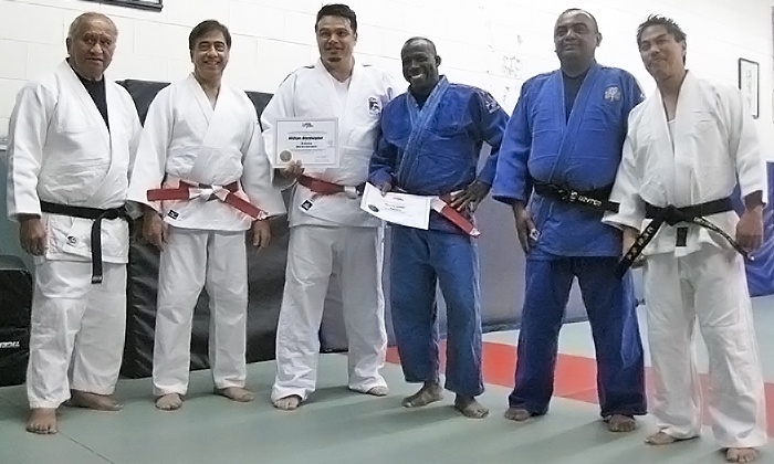 Cahill's Judo Academy - San Bruno: 30 Days of Unlimited Judo Training for One or Two at Cahill's Judo Academy (77% Off)