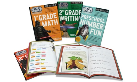 Star Wars 3-Book Educational Workbooks Sets