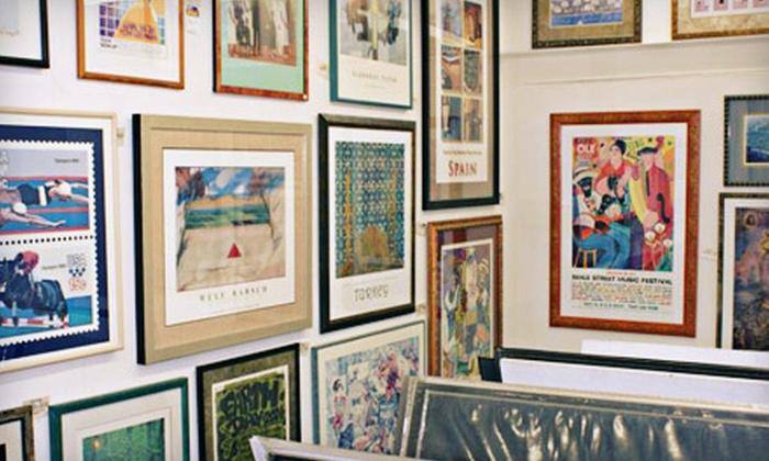 1910 Frame Works - Idlewild Community Neighborhood Association: $42.90 for $100 Worth of Custom Framing at 1910 Frame Works