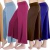 Women's Fold-Over Waist Culotte Capri Pants