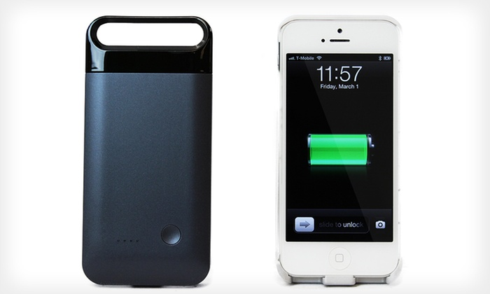 Mota Extended-Battery Case for iPhone 5: $34.99 for a Mota Extended-Battery iPhone 5 Case ($70 List Price). 2 Colors Available. Free Shipping and Returns.