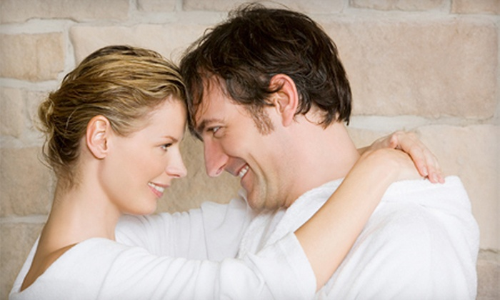M Spa and Skin Care - Shelton: $85 for a 60-Minute Couples Massage with Chocolates at M Spa and Skin Care ($185 Value)
