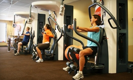 6 or 10 Smartraining Sessions at Koko FitClub of Cherry Hill (Up to 78% Off)