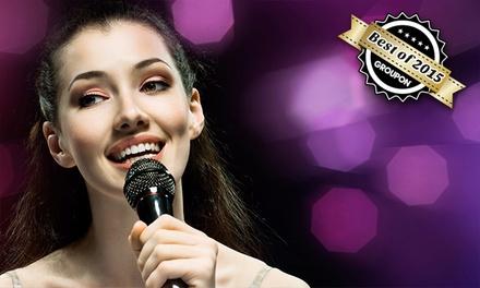 5x oder 10x 30 Minuten Gesangs-Einzelunterricht in der Musikschule Lautstark ab 39,90 € (bis zu 68% sparen*)