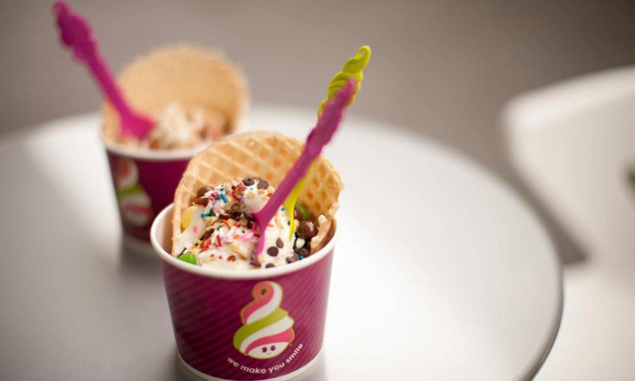 Menchie's - Multiple Locations: Self-Serve Frozen Yogurt at Menchie's (50% Off). Three Locations Available.