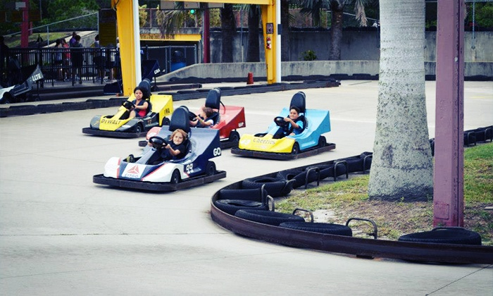 Andretti Thrill Park - Melbourne: All-Day Amusement-Park Pass  at Andretti Thrill Park for One or Two