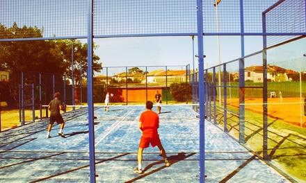 Sport et fun: 1h30 de location de terrain de padel pour 4 joueurs, matériel compris à 17,90€ au Tennis Club de Bordeaux