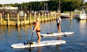 Baltimore Boating Center: Two-Hour Stand-Up Paddleboarding Rental for Two or Four by Middle River SUP (Up to 58% Off)