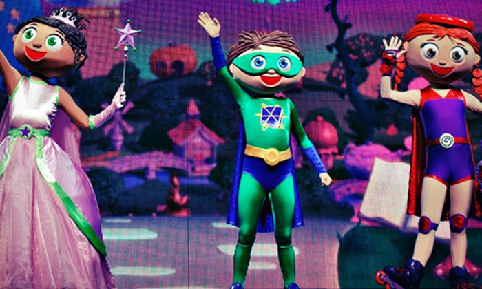 """Super Why Live: You've Got the Power! - The Tower Theater: """"Super Why Live: You've Got the Power!"""" at Tower Theatre on Saturday, May 4 (Up to Half Off). Four Options Available."""