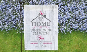 GiftsForYouNow.com: One or Two Personalized Garden Flags from GiftsForYouNow.com (Up to 73% Off)
