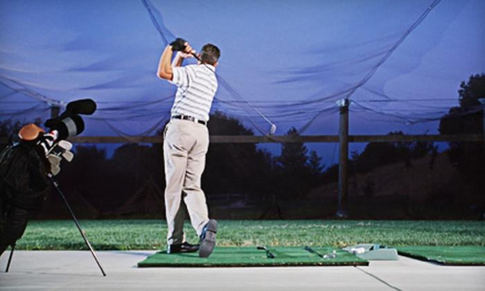 Pasadena Golf Center - Lake Shore: Driving-Range Balls, Batting-Cage Tokens, or Mini Golf at Pasadena Golf Center (Up to 57% Off). Two Options Available.