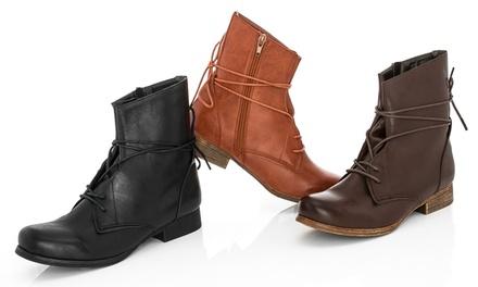 Rasolli Women's Combat Boots