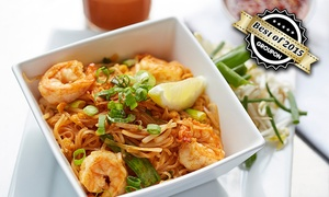 ASIN am Mauerpark (Thai Cuisin): 3-Gänge-Menü mit All-you-can-eat für Zwei oder Vier im ASIN am Mauerpark (bis zu 72% sparen*)