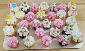 Icing on the Cake: One or Two Dozen Custom Cupcakes at Icing on the Cake (Up to 58% Off)