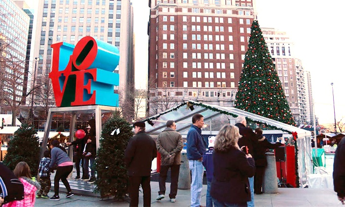 Philadelphia Urban Adventures - Philly Tour Hub: Center City Holiday Tour for Two or Four from Philadelphia Urban Adventures (Up to 51% Off)