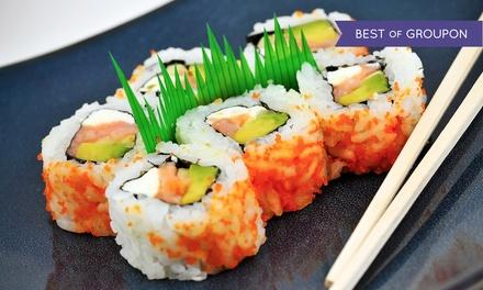 47% Off Sushi and Japanese Fusion Cuisine at Raku