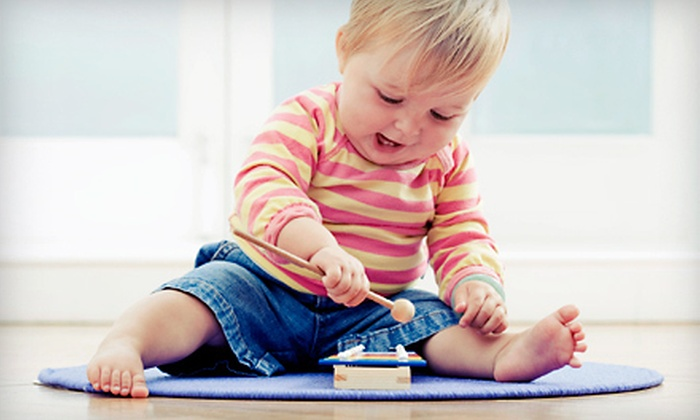 Gymboree Play & Music Grand Rapids - Multiple Locations: Four Classes Plus Four Weeks of Unlimited Open Play at Separate Locations of Gymboree Play & Music (Half Off)