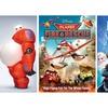 Disney Animated Movies Digital Downloads