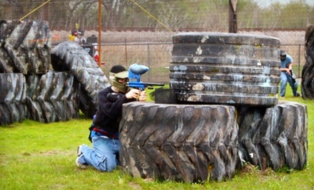 Four Hours of Paintball with Gear for 1, 2, 4, or Up to 10 at Madddogz (Up to 60% Off)