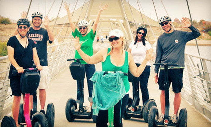 Segway of Scottsdale - Multiple Locations: 90-Minute Segway Tour of Tempe Town Lake or Desert Ridge for One, Two, or Four from Segway of Scottsdale (Up to 54% Off)