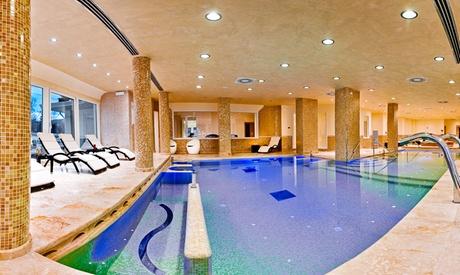1 notte per 2 persone in camera matrimoniale Deluxe con colazione e Spa presso Best Western Hotel Fiuggi Terme Resort