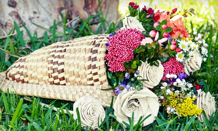 Sweetgrass Floral Design - Charleston: Flower Arrangements from Sweetgrass Floral Design (Up to 53% Off). Two Options Available.
