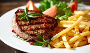 La Patagonia Argentina: Steaks, Seafood, and Pasta for Dinner for Two or More at La Patagonia Argentina (48% Off)