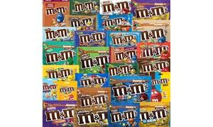 Lot de 3, 6 ou 8 sachets de M&M's