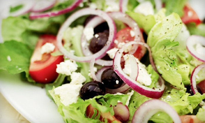 The White Tower Restaurant - Varsity View: $10 for $20 Worth of Greek Food at The White Tower Restaurant