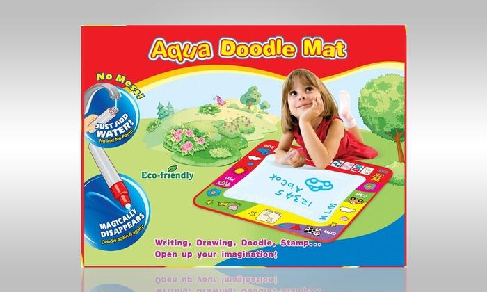 Kids' Doodle Mat And Magic Pen