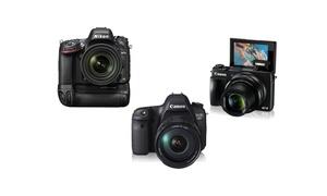 Fotocamera Canon o Nikon