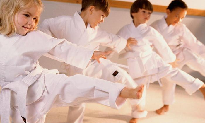 David Gallaher's Gung Fu Institute - Yayso Yoga: One Month Children Martial Arts Kung Fu Classes at David Gallaher's Gung Fu Institute (55% Off)