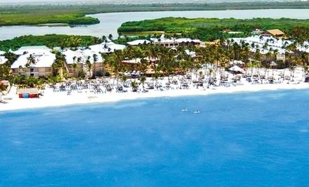 Groupon Deal: 4-Night All-Inclusive Stay at Be Live Grand Punta Cana with Airfare. Price/Person Based on Double Occupancy.