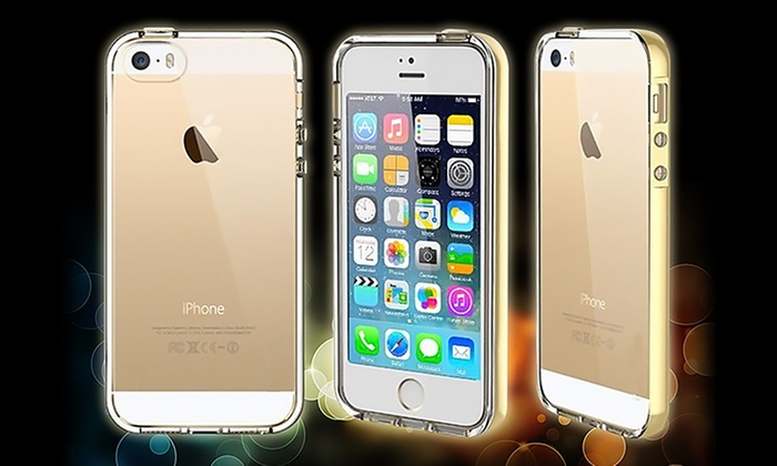 ... Waloo Light-Up Protective Case for iPhone 5 5s 3b11eb90b