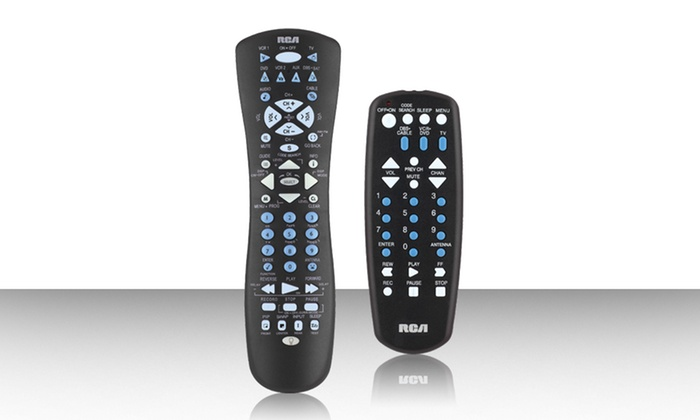 RCA Universal Remote Control 2-Pack: RCA Universal Remote Control 2-Pack. Free Returns.