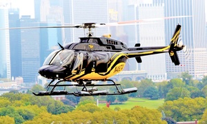 Zip Aviation: Helicopter Tour of New York City with Photos for One or Two from Zip Aviation (Up to 26% Off)