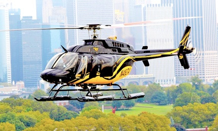 Helicopter Tour of New York City with Photos for One or Two from Zip Aviation (Up to 34% Off)