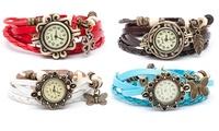 Reloj de estilo vintage para mujer