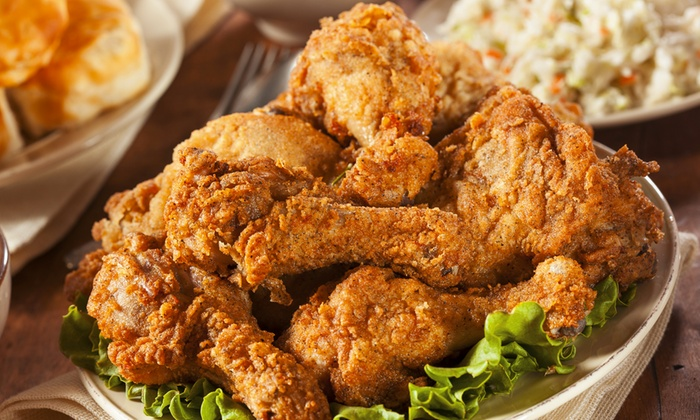 Farm Basket - Charleston Preservation: $20 Worth of Fried Chicken and Sides or a 12-Piece Family Basket at Farm Basket (Up to 41%Off)